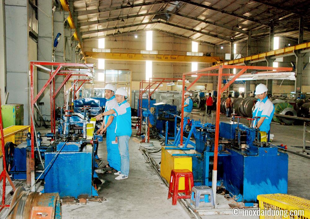 Sản xuất Lap cây inox Đặc tại Nhà máy Inox Đại Dương