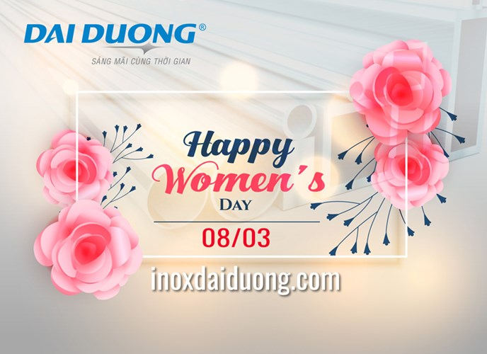HAPPY WOMEN'S DAY 8/3