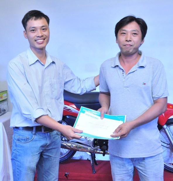 Chúc mừng anh Trương Văn Công - Đoàn viên Lao động xuất sắc 2014