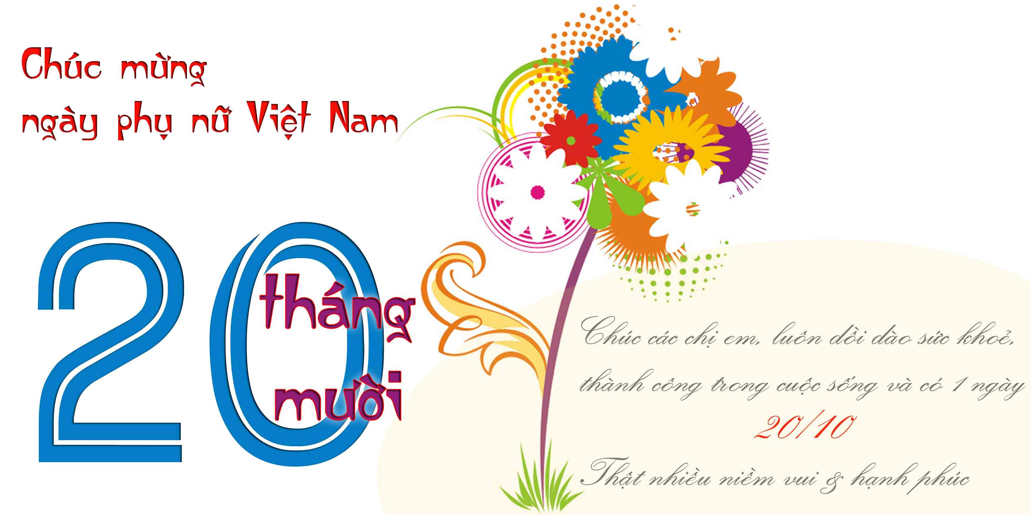 Chúc mừng ngày phụ nữ Việt Nam 20/10-inox đại dương